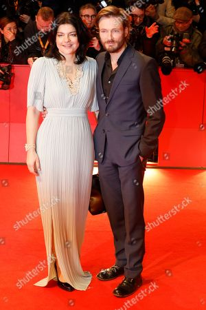 Jasmin Tabatabai (L) and Andreas Pietschmann arrive for the opening ceremony of the 69th annual Berlin International Film Festival in Berlin, Germany, 07 February 2019. The Berlinale runs from 07 to 17 February.