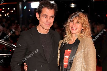Tom Tykwer (L) and his wife Marie Steinmann arrive for the opening ceremony of the 69th annual Berlin International Film Festival in Berlin, Germany, 07 February 2019. The Berlinale runs from 07 to 17 February.