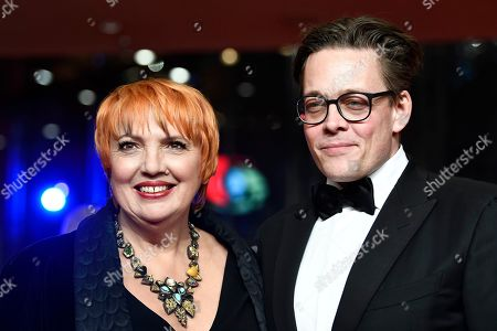 Claudia Roth (L) and Konstantin von Notz arrive for the opening ceremony of the 69th annual Berlin International Film Festival in Berlin, Germany, 07 February 2019. The Berlinale runs from 07 to 17 February.