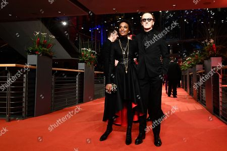 Lindiwe Suttle (L) and Marius Mueller-Westernhagen arrive for the opening ceremony of the 69th annual Berlin International Film Festival in Berlin, Germany, 07 February 2019. The Berlinale runs from 07 to 17 February.