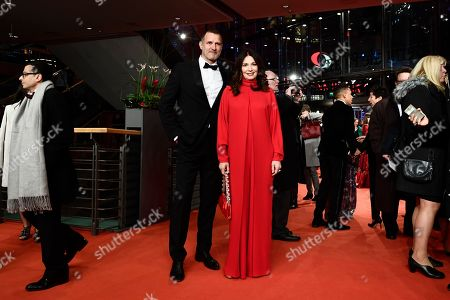 Iris Berben (C-R) and Heiko Kiesow (C-L) arrive for the opening ceremony of the 69th annual Berlin International Film Festival in Berlin, Germany, 07 February 2019. The Berlinale runs from 07 to 17 February.