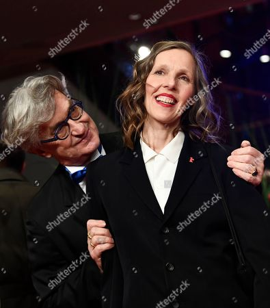 Stock Image of Wim Wenders (L) and Donata Wenders arrive for the opening ceremony of the 69th annual Berlin International Film Festival in Berlin, Germany, 07 February 2019. The Berlinale runs from 07 to 17 February.