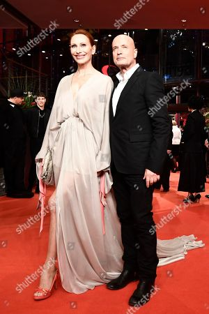 Andrea Sawatzki (L) and Christian Berkel arrive for the opening ceremony of the 69th annual Berlin International Film Festival in Berlin, Germany, 07 February 2019. The Berlinale runs from 07 to 17 February.