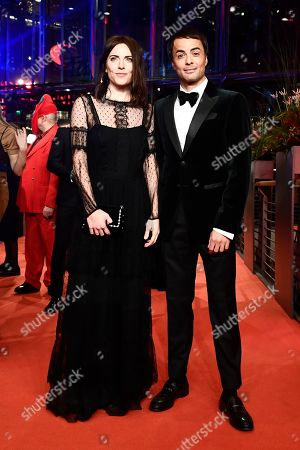 Nikolai Kinski (R) and guest arrive for the opening ceremony of the 69th annual Berlin International Film Festival in Berlin, Germany, 07 February 2019. The Berlinale runs from 07 to 17 February.