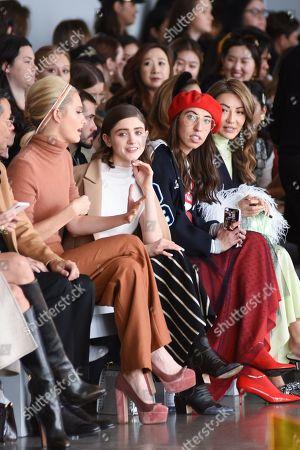 Stock Picture of Poppy Delevingne, Natalia Dyer and Caroline Vazzana