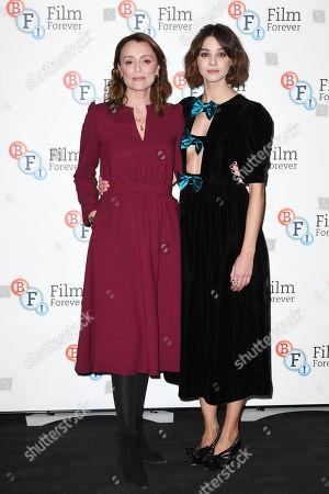 Keeley Hawes and Emma Appleton