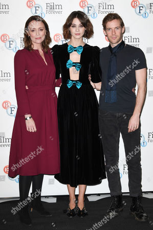 Stock Picture of Keeley Hawes, Emma Appleton and Luke Treadaway