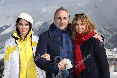 Frederique Bel, Antoine Dulery, Florence Pernel