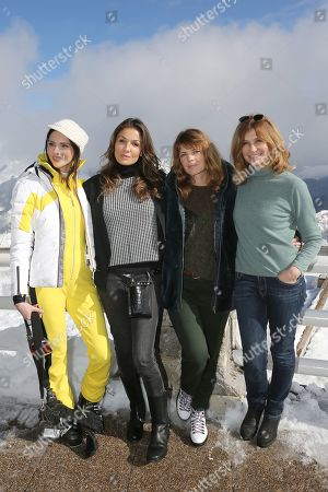 Stock Photo of Frederique Bel, Nadia Fares, Gwendoline Hamon, Florence Pernel