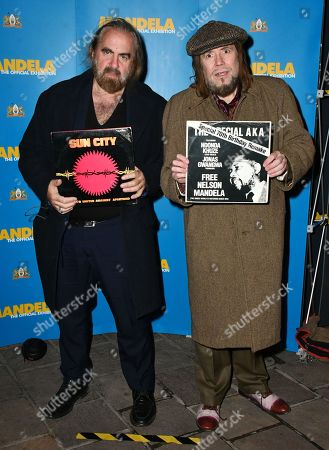 Stock Image of Arthur Baker, Jerry Dammers