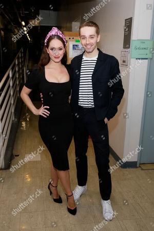 Ashley Shaw and Liam Mower