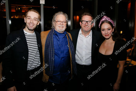Stock Picture of Liam Mower, Russ Tamblyn, Matthew Bourne and Ashley Shaw