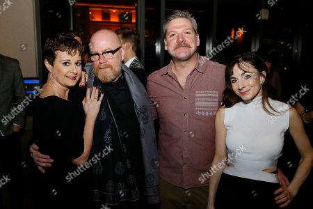 Madelaine Brennan, Lez Brotherston, Alan Vincent and Sophia Hurdley