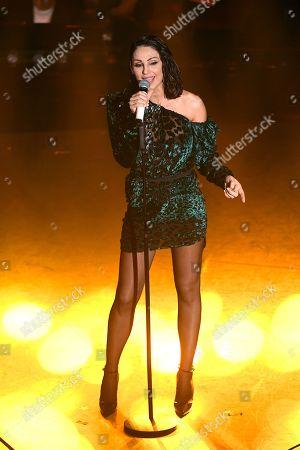 Singer Anna Tatangelo