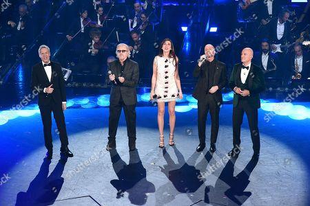 Claudio Baglioni, Umberto Tozzi, Virginia Raffaele, Raf, Claudio Bisio