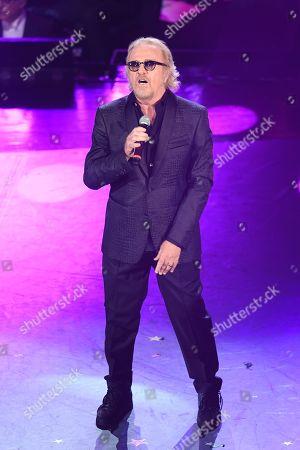 Editorial photo of 69th Sanremo Music Festival, Day 3, Italy - 07 Feb 2019