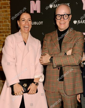 Yana Peel and Hans Ulrich Obtrist