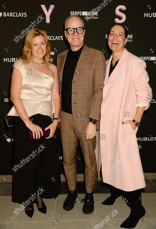 Karen Frank, Hans Ulrich Obtrist and Yana Peel