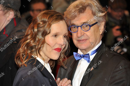 Stock Picture of Wim Wenders, Donata Wenders