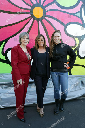 Kita S. Curry, PhD - President/CEO, Didi Hirsch, Melissa Rivers and Ronda Rousey
