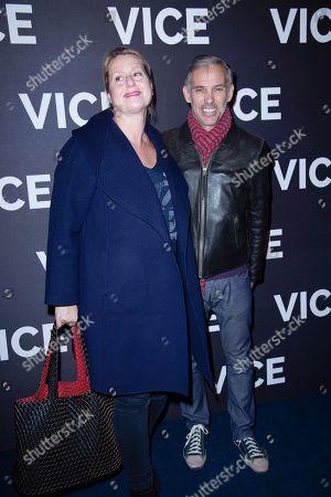 Paul Belmondo and Luana Belmondo