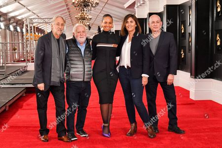 Editorial image of 61st Annual Grammy Awards Red Carpet roll out, STAPLES Center, Los Angeles, USA - 07 Feb 2019