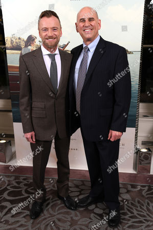 Richard Dormer and Gregg Schwenk