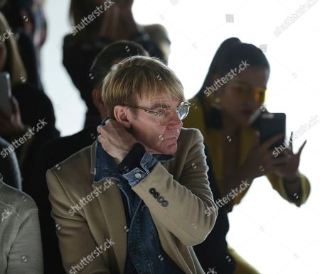 Fashion Director for Neiman Marcus Ken Downing attends the Tadashi Shoji Runway Show at Spring Studios during New York Fashion Week on in New York