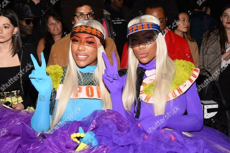 Shannade Clermont and Shannon Clermont