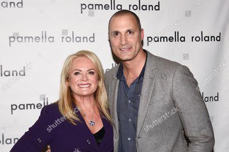 Pamella Roland and Nigel Barker