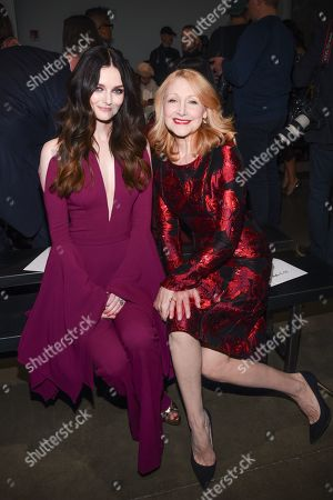 Stock Image of Lydia Hearst-Shaw and Patricia Clarkson