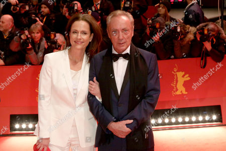 Stock Picture of Claudia Michelsen and Udo Kier