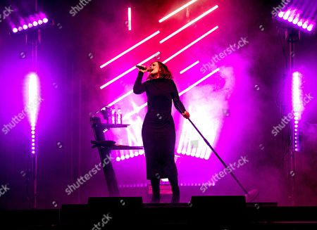 Editorial photo of Alison Moyet  in concert at the BIC Bournemouth, UK - 07 Feb 2019