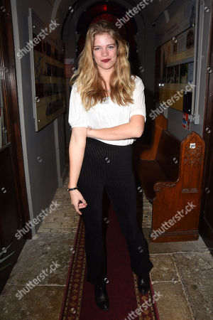Editorial photo of 'A Small House At The Edge Of The World' play press night, London, UK - 07 Feb 2019