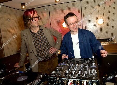 Jarvis Cocker and Alexis Taylor