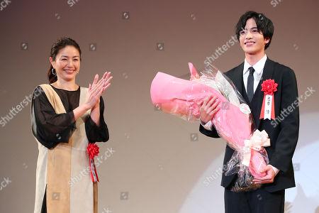 (L to R) Haruka Igawa, Jun Shison