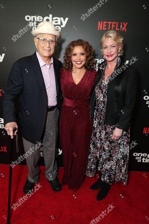 Norman Lear, Executive Producer, Justina Machado, Lyn Lear