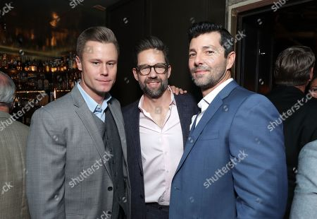 Stock Image of Eric Nenninger, Todd Grinnell, Alex Quijano