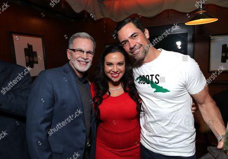 Tony Plana, Gloria Calderon Kellett, Co-creator/Executive Producer, Danny Pino