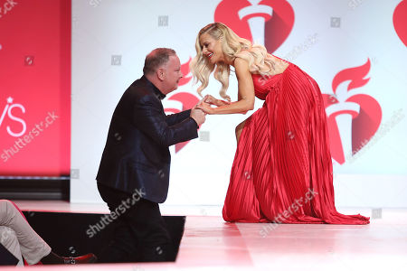 Editorial picture of 115th Annual Heart Truth Go Red for Women Red Dress Collection 2019 - Runway, New York, USA - 07 Feb 2019