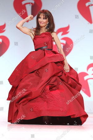 Susan Lucci on the catwalk