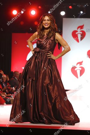 Editorial photo of 15th Annual American Heart Association's 'Go Red for Women' Red Dress Collection show, Runway, Fall Winter 2019, New York Fashion Week, USA - 07 Feb 2019
