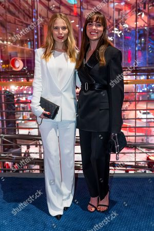 Austrian actresses Nora Waldstaetten and Verena Altenberger at the after show party of the opening ceremony of the 69th annual Berlin International Film Festival in Berlin, Germany, 07 February 2019. The Berlinale runs from 07 to 17 February.