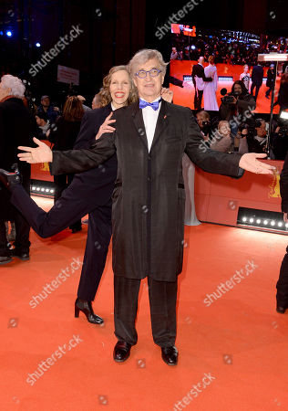 Wim Wenders and wife Donata