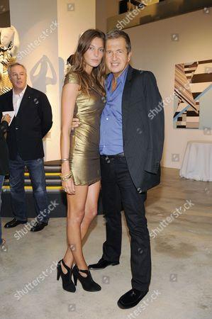 Daria Werbowy and Mario Testino