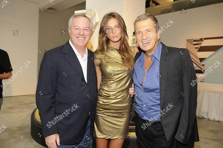 Giuseppe Stefanel, Daria Werbowy and Mario Testino