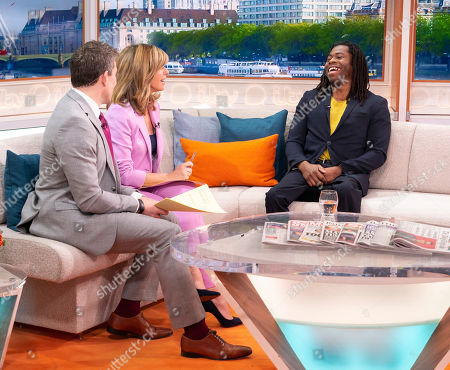 Ben Shephard and Kate Garraway, Ade Adepitan