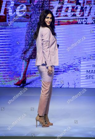 Stock Picture of Vaani Kapoor on the catwalk