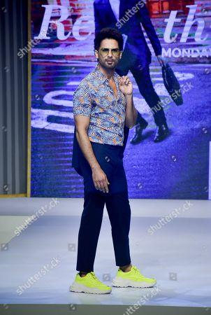 Shahid Kapoor on the catwalk