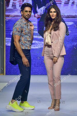 Shahid Kapoor and Vaani Kapoor on the catwalk